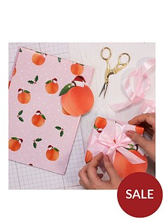 ginger-ray-peach-design-christmas-wrapping-paper-kit