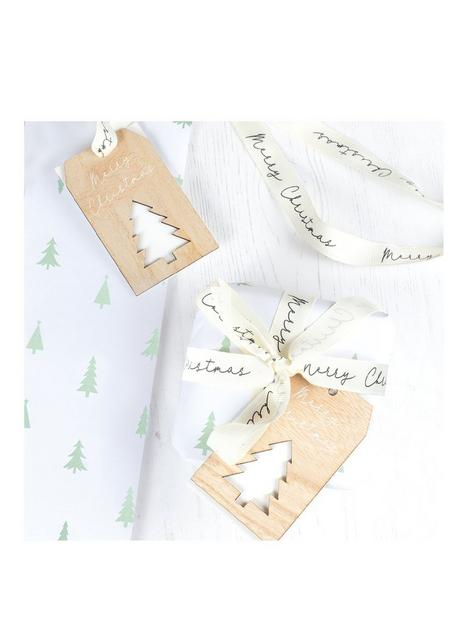 ginger-ray-christmas-wrapping-paper-bundle-with-ribbons-and-wooden-tags-trio-pack
