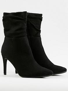 wallis-rouched-pointed-ankle-boot