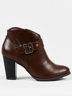 wallis-curved-topline-buckle-ankle-boot