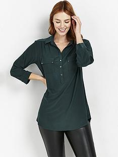 wallis-plain-ity-shirt-green