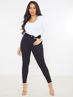 missguided-plus-missguided-plus-lawless-highwaisted-supersoft-skinny-jean-black
