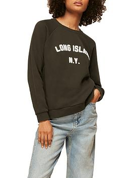whistles-long-island-logo-sweatshirt-khaki