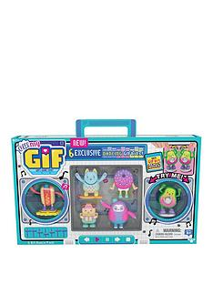 oh-my-gif-6-bit-dance-pack--oh-my-gif-moving-collectibles-toy-with-6-exclusive-dancing-gifbits-for-boys-and-girls
