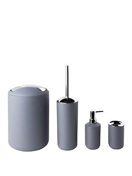 sabichi-grey-matte-bathroom-4pc-accessory-sets