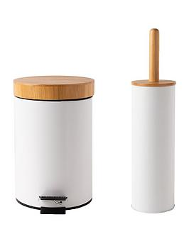 sabichi-bamboo-bathroom-bin-toilet-brush-set