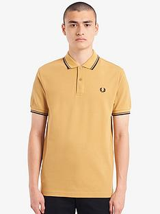 fred-perry-twin-tipped-polo-shirt-gold