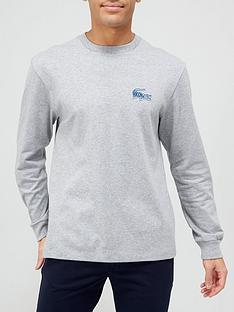 lacoste-croc-logo-long-sleeve-t-shirt-grey-marl