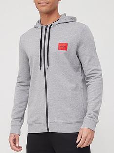 hugo-dapele-212-red-patch-logo-zip-throughnbsphoodie-medium-grey