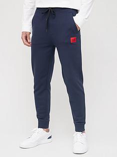 hugo-doak-212-red-patch-logo-joggers-dark-blue