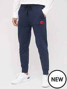 hugo-doak-212-red-patch-logo-joggers-dark-blue