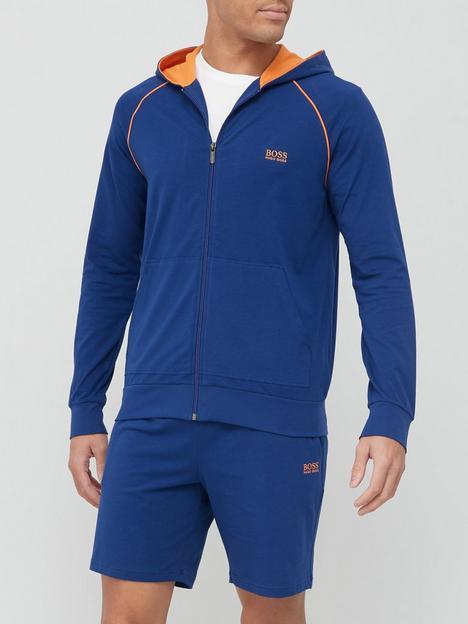 boss-bodywear-mix-amp-match-lounge-zip-throughnbsphoodie-bright-bluenbsp