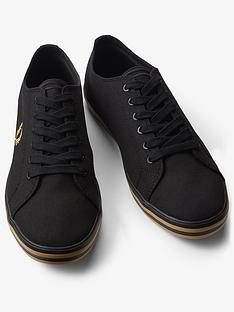 fred-perry-fred-perry-kingston-twill-lace-up-trainer
