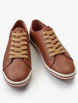 fred-perry-kingston-leather-trainer-tan