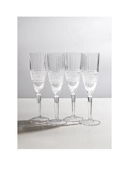 maxwell-williams-verona-crystalline-champagne-flute-glasses-ndash-set-of-4