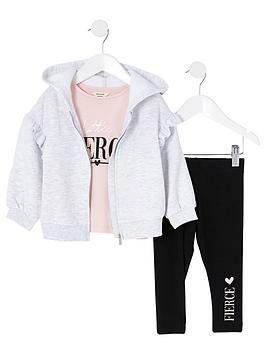 river-island-mini-girls-3-piece-hoodie-set--nbspgrey