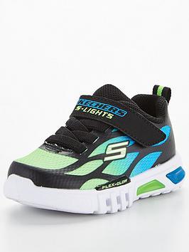 skechers-toddler-flex-glow-trainer-blue