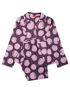 minijammies-girls-gabriella-spot-print-long-sleeve-pyjama-set-purple