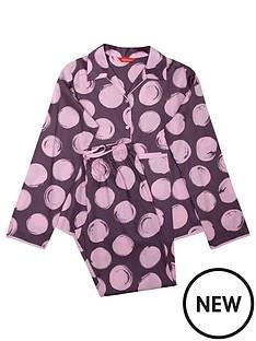 minijammies-girls-gabriella-spot-print-long-sleeve-pyjama-set-purple