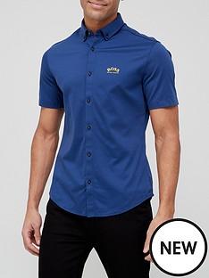 boss-biadia-r-short-sleeve-oxford-shirt-navy