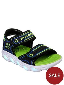 skechers-hypno-splash-lighted-sandal-bluelime