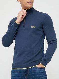 boss-ziston-quarter-zip-knitted-jumper-blacknbsp