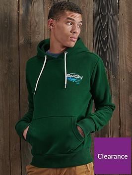superdry-classic-logo-hoodie-green