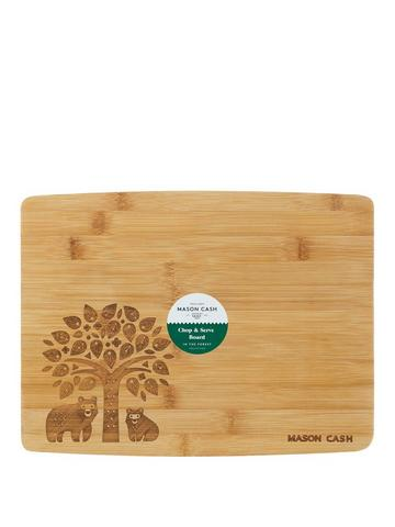 Worktop Saver Smooth Finish 28cm x 38cm Glass Chopping Board