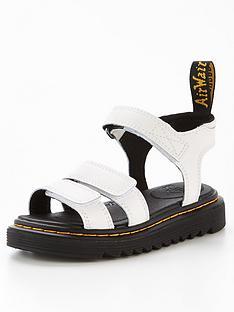 dr-martens-juniornbspklaire-lamper-sandal-white