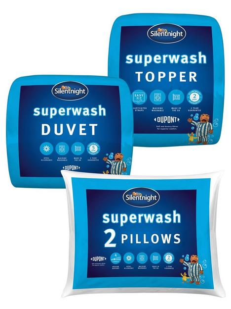 silentnight-superwash-2pk-pillow-duvet-105-topper-bundle