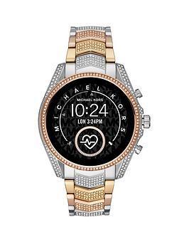 michael-kors-bradshawnbspfull-display-stainless-steel-bracelet-ladies-smart-watch
