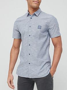 boss-magneton_1-short-sleeve-oxford-shirt-dark-bluenbsp