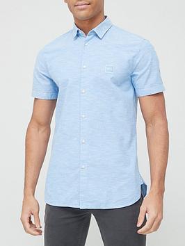 boss-magneton_1-short-sleeve-oxford-shirt-light-bluenbsp