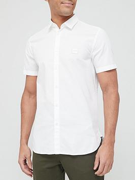 boss-magneton_1-short-sleeve-oxford-shirt-whitenbsp