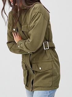 v-by-very-pocket-utility-jacket-khaki