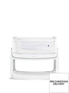 snuz-snuzpod-4-bedside-crib-with-mattress-white