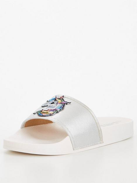 lelli-kelly-denise-unicorn-slider-white