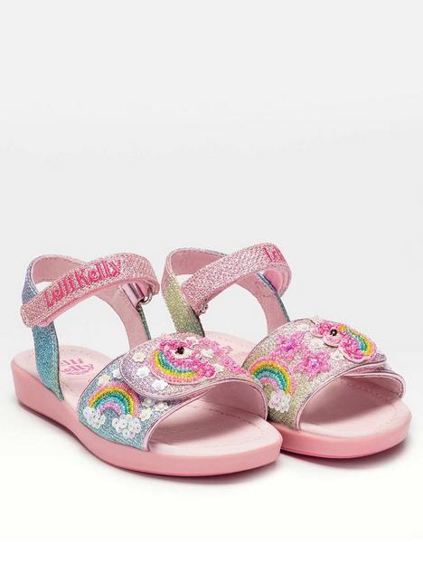 lelli-kelly-treasure-unicorn-sandal-multi