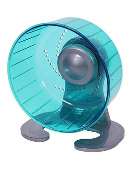 rosewood-pico-small-animal-exercise-wheel-teal