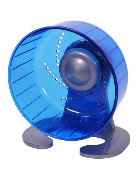 rosewood-pico-small-animal-exercise-wheel-blue