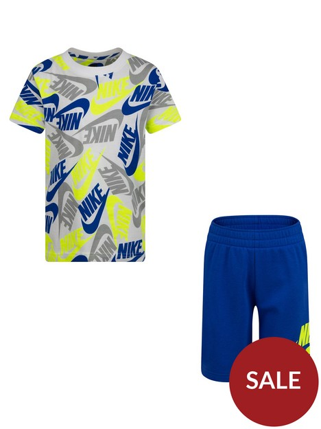nike-younger-boy-futura-toss-printed-2-piece-short-set-blue