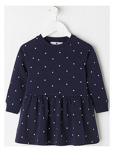 mini-v-by-very-girls-star-jersey-sweat-dress-navy