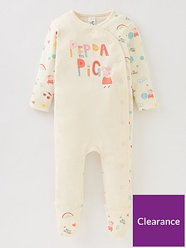 peppa-pig-baby-girls-peppa-pig-protect-our-planet-babygrow-cream