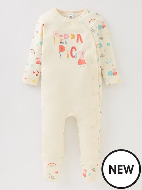 peppa-pig-baby-girls-peppa-pig-protect-our-planet-babygrow