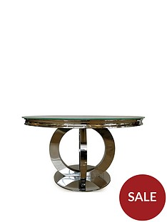 vida-living-horizon-round-130nbspcm-glass-top-dining-table-white
