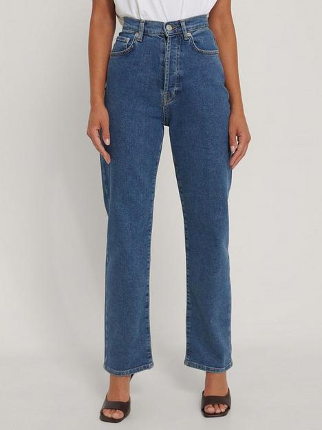 na-kd-organic-straight-high-waist-jeans-mid-blue