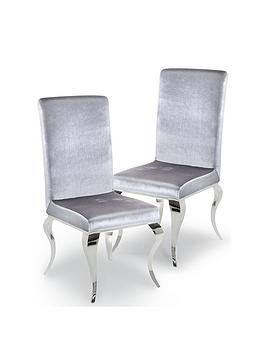 vida-living-ohio-pair-of-fabric-dining-chairs-silver