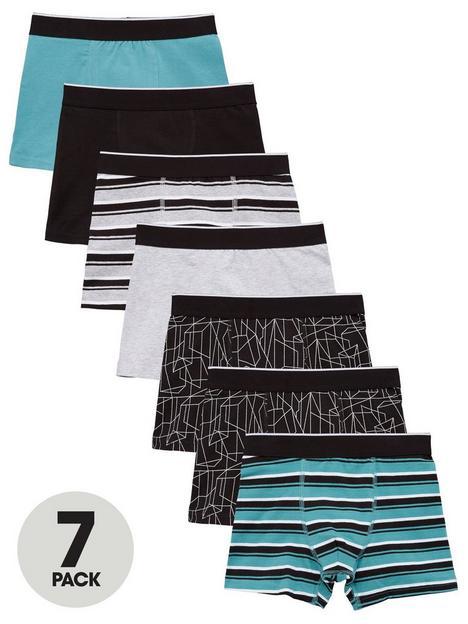 mini-v-by-very-boys-7-pack-trunks-all-over-printnbspand-stripe-multi