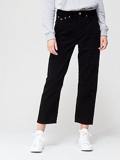 tommy-jeans-harper-high-rise-straight-jeans-blacknbsp