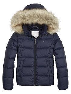 tommy-hilfiger-girls-essential-basic-down-coat-black